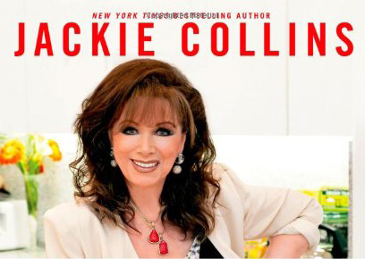 My conversation with Jackie Collins about her new cookbook